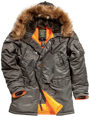 Куртка аляска Slim Fit N3B Parka Alpha Industries